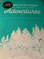 Chalk Couture Transfer,  Outdoor Adventure!  RARE HTF