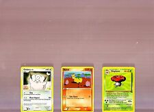 POKEMON CLEFAIRY 77/130 & NUMEL 59/100 & VILEPLUME 31/64 TRADING CARDS!!