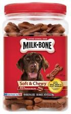 Milk-Bone Soft & Chewy Beef & Filet Mignon Recipe Dog Treats, 25-Ounce