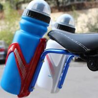 Double Water Bottle Holder Cage Bicycle Seat Post Rack Converter Bike Saddle Men