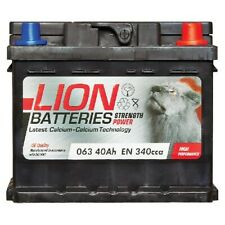 Lion MF53646 063 Car Battery 3 Years Warranty 40Ah 340cca 12V Electrical