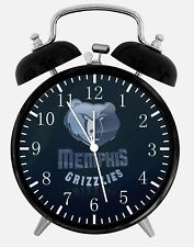 """Memphis Grizzlies Alarm Desk Clock 3.75"""" Home or Office Decor W289 Nice For Gift"""