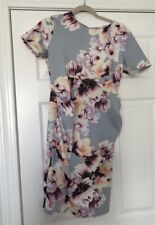 Asos Maternity Floral Dress Midi Length Size 6 Gorgeous For Summer
