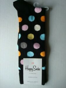 MENS HAPPY SOCKS  SIZE  10-13    ~NEW W/TAGS~