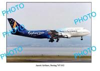 OLD LARGE PHOTO, ANSETT AIRLINES, BOEING 747, SYDNEY OLYMPICS AIRCRAFT