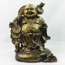 NEW Collectable Brass Traditional Buddha Art Statue Brass Sculpture Antique Fini