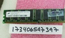 512MB DDR1 PC3200 CL3 3200 400 SINGLE RANK 184PIN NON-ECC UNBUFFERED 1RX8 64X8