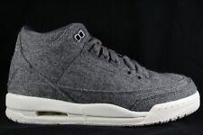 new style 6d086 3b336 Nike Air Jordan 3 Retro BG GS Wool Dark Grey size 6Y