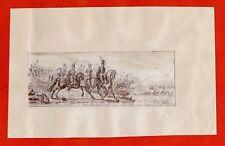M*35-DESSIN-PLUME-J. FRANÇOIS JOSEPH SWEBACH-DESFONTAINES-BATAILLE EMPIRE-1813
