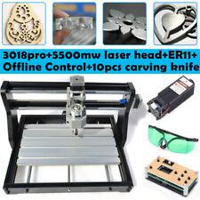 Mini CNC 3018 PRO Desktop-Graviermaschine DIY Pcb Fräsen Holzbearbeitungsfräser