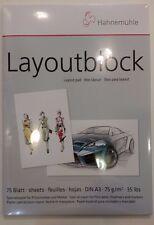 Marker Papier Layoutblock A3 Hahnemühle Art.Nr.10625060 Copic Marker Block