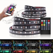 "MICTUNING 2 Pcs 60"" SMART RGB LED Truck Bed Lights Strips Neon For Pickup SUV RV"