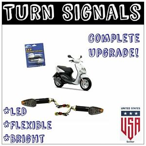 2006 American Lifan Industry LF200GY-5 Motorcycle Replacement LED Turn Signals