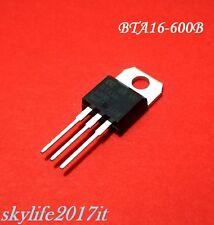 Triac BTA16-600B 16A 600V Transistor - 1 pezzo BTA 16 600 B