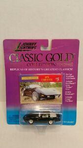 Rare 1979 Chevrolet Corvette Black White Lightning Chase