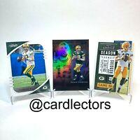 Aaron Rodgers 2020 MVP Base Football Card Lot Panini NFL Green Bay Packers NM-M