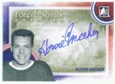 """HOWIE MEEKER """"AUTOGRAPH CARD"""" ITG FOREVER RIVALS TORONTO MAPLE LEAFS"""