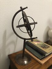 Decorative Armillary Sphere Collectible With Stand. Pottery Barn