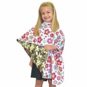 "Marianna #08239 Kids Reversible Styling Cape 36"" x 36"" Nylon"
