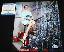 Shirley Jones signed 8 x 10, Elmer Gantry, Oklahoma!, The Music Man, Beckett BAS