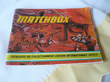 Matchbox, catalogue 1972/73