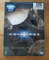 The Universe - Series 3 - Complete (DVD, 3-Disc Set) NEW & SEALED! SAME DAY POST