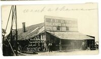 RPPC JH Durr Blacksmith Shop ARTOIS CA California *Trimmed* Real Photo Postcard