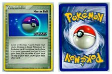 Master Ball 99/113 STAMPED REVERSE HOLO Delta Species Pokemon Card Exc Cond