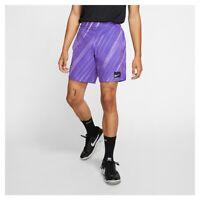 NIKE Court Flex Ace All Over Print Tennis Shorts Purple Size XS *NEW* CJ3298-550