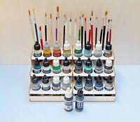 Paint Bottle Rack Modular Organizer for VALLEJO, HATAKA, MIG  Paint     24 Pots