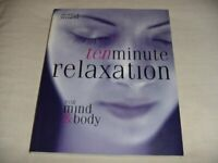 Ten Minute Relaxation, for Mind & Body by Jennie Harding Book The Fast Free