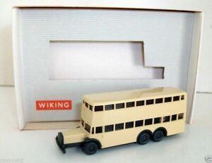 Wiking 1/160 Scale - 9373 Berliner Doppledeck - Bus D38