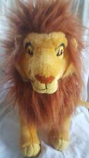 "Vintage Lion King 16"" Adult Simba  Disney Applause Stuffed Plush Animal"