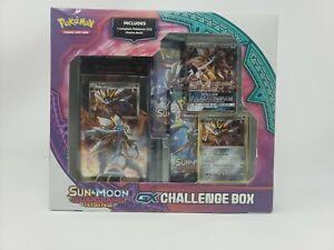 Lunala Pokemon S/&M Guardians Rising GX Challenge Box Sealed NIB