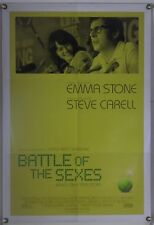 BATTLE OF THE SEXES DS ROLLED ORIG 1SH MOVIE POSTER EMMA STONE STEVE CARELL 2017