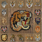 1Pc Tiger Embroidery Sew Iron on Patch Applique for Clothing Bag Dress DIY Craft
