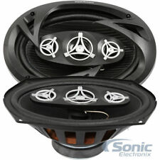 "Power Acoustik 800W 6x9"" Edge Series 4-Way Coaxial Car Speakers 