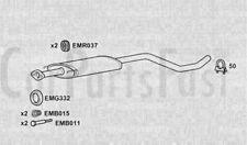 Scatola centrale di scarico Nissan Micra 1.6 Benzina Cabrio 07/2005 a 06/2006