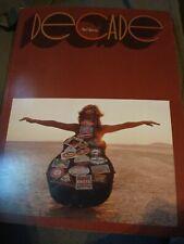 Neil Young Decade Sheet Music Song Book  Warner Bros.