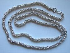 Lange, espesor de cadena de plata, rey cadena, años 925 plata, 82cm, 74 gramos