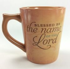 BLESSED BE CHRISTIAN Coffee Mug Name of the Lord Dayspring Praise God 2002