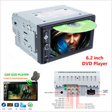 """Double 2DIN 6.2"""" Car Stereo Radio DVD CD Player Bluetooth USB TF MP5 Mirror Link"""
