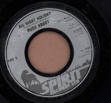 "Russ Abbot(7"" Vinyl)All Night Holiday-Spirit-FIRE 6-UK-1985-VG/VG"