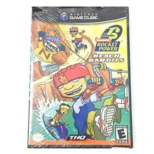 Nickelodeon Rocket Power Beach Bandits Nintendo GameCube Vtg Video Game New Comp