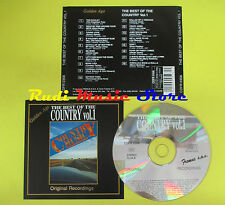 CD THE BEST OF THE COUNTRY VOL 1 compilation 92 PRESLEY CASH (C4) no mc lp vhs