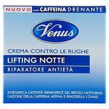 Venus Crema Viso Lifting notte Antirughe Riparatore Antieta' 50 ml Caffeina