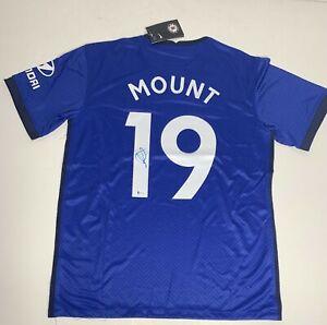 Mason Mount Signed Chelsea F.C. Soccer Jersey Beckett WD45423