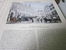 Archivio Amburgo 1 città immagine 1076 Municipio e Banca 1832 Peter Suhr