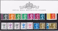 2010 Royal Mail Machin Collectors Definitive Stamp Presentation Pack 88 NHM
