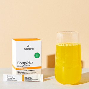 Arbonne EnergyFizz Ginseng Fizz Sticks - Citrus Flavor #2077